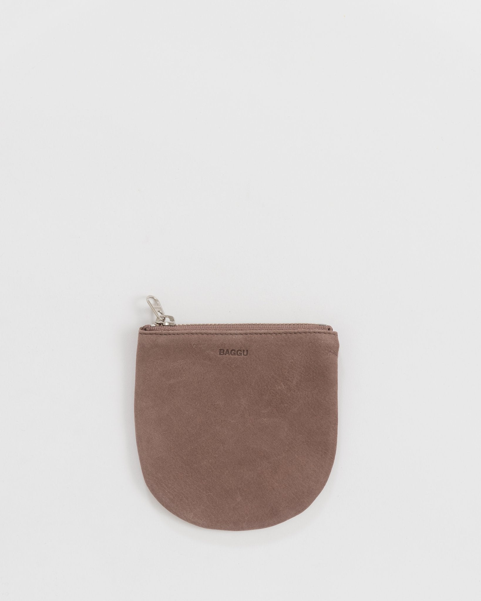 Small Purse in Taro Nubuck