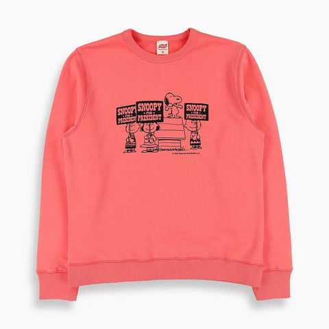 Vote Snoopy Sweatshirt in Pink