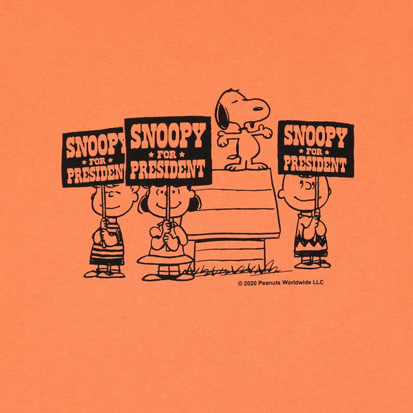 Vote Snoopy T-Shirt in Orange