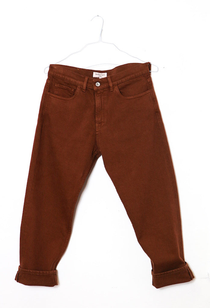 Tearaway Jeans in Brown