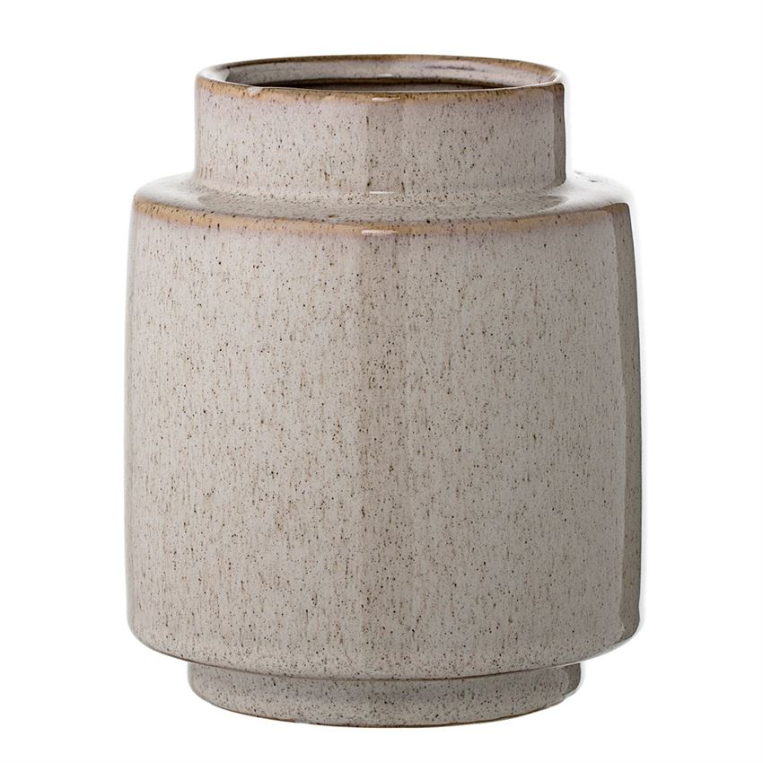 Stoneware Vase in Natural