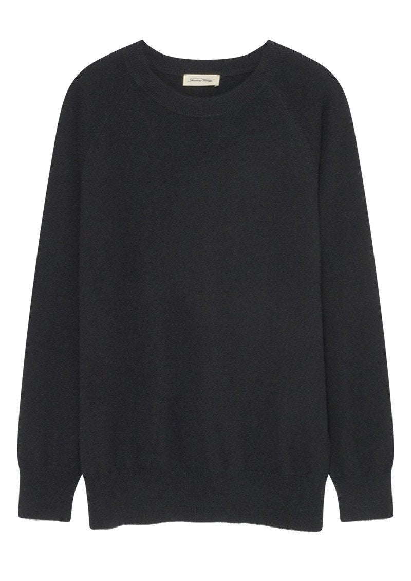 Maxim Cashmere Jumper in Black
