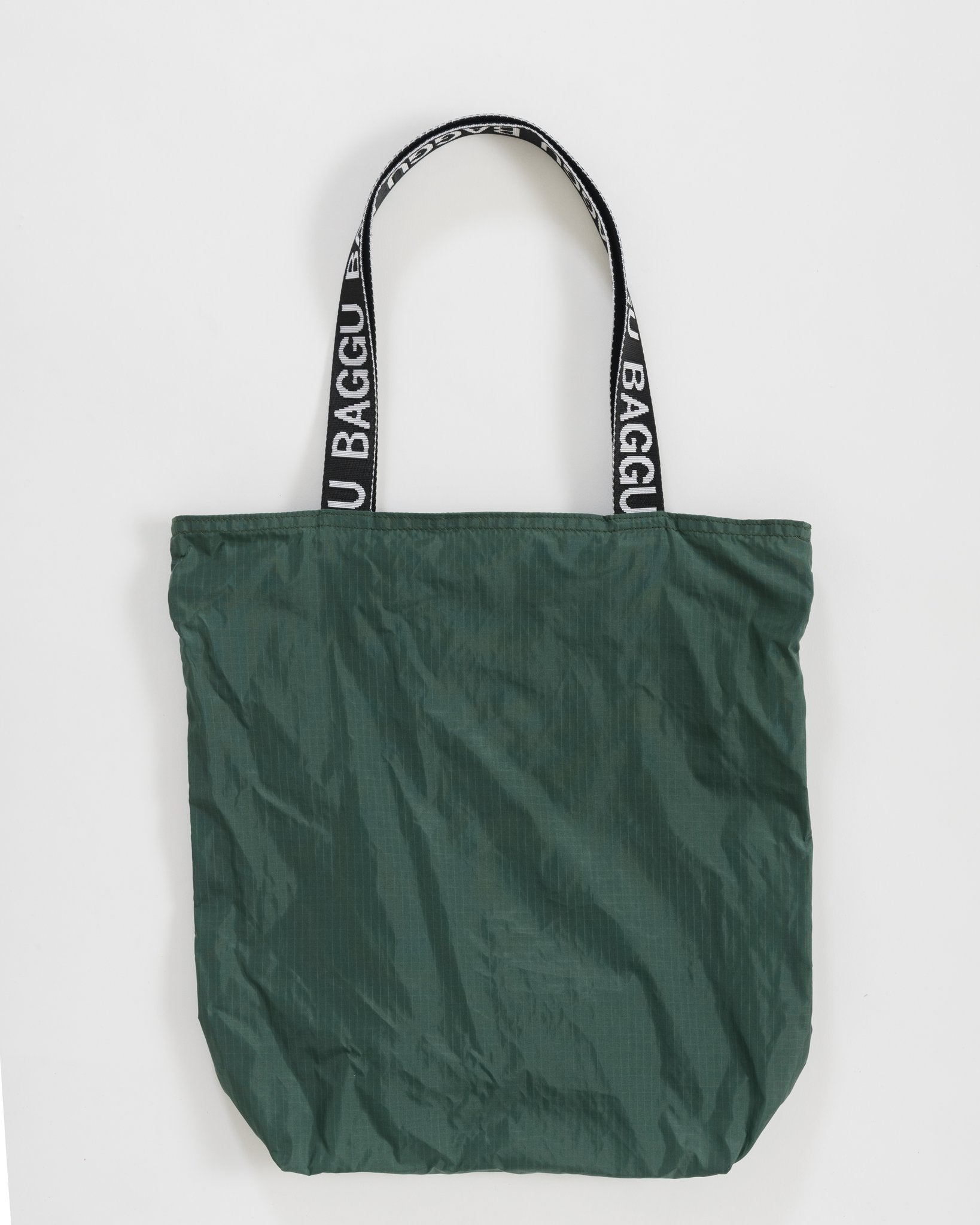 Ripstop Nylon Tote in Sage Green