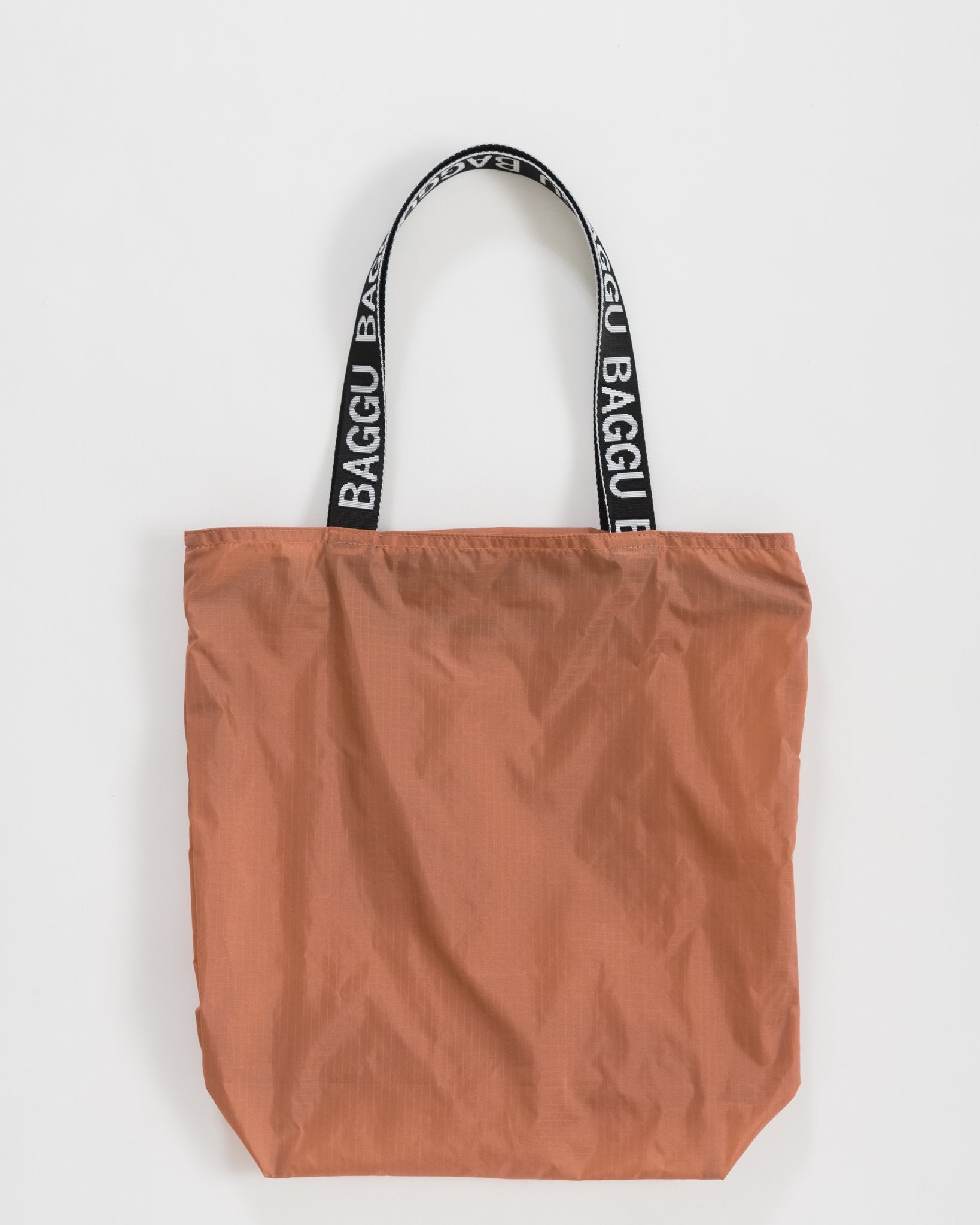 Ripstop Nylon Tote in Terracotta