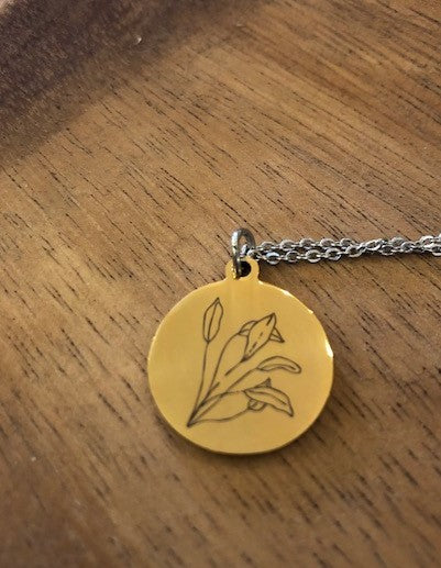 Leaves Necklace