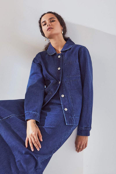 Blueprint Jacket in Classic Denim