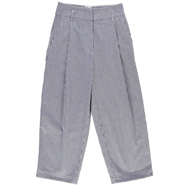 British Worker Pants in Hickory Stripe