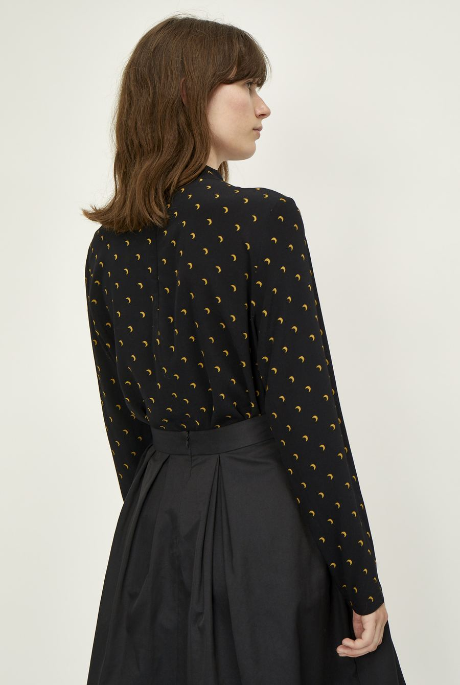 Cassia Blouse in Black