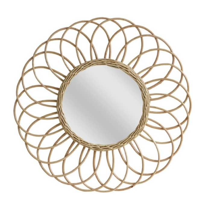 Willow Round Mirror