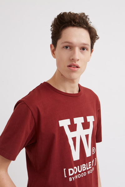 Ace Short Sleeve T-Shirt Dark Red