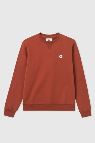 Tye Sweatshirt Dark Red