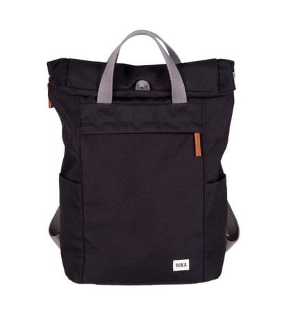 Finchley A Medium Sustainable Rucksack in Ash