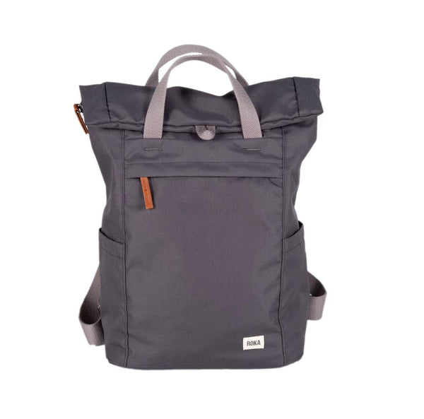 Finchley A Large Sustainable Rucksack in Carbon