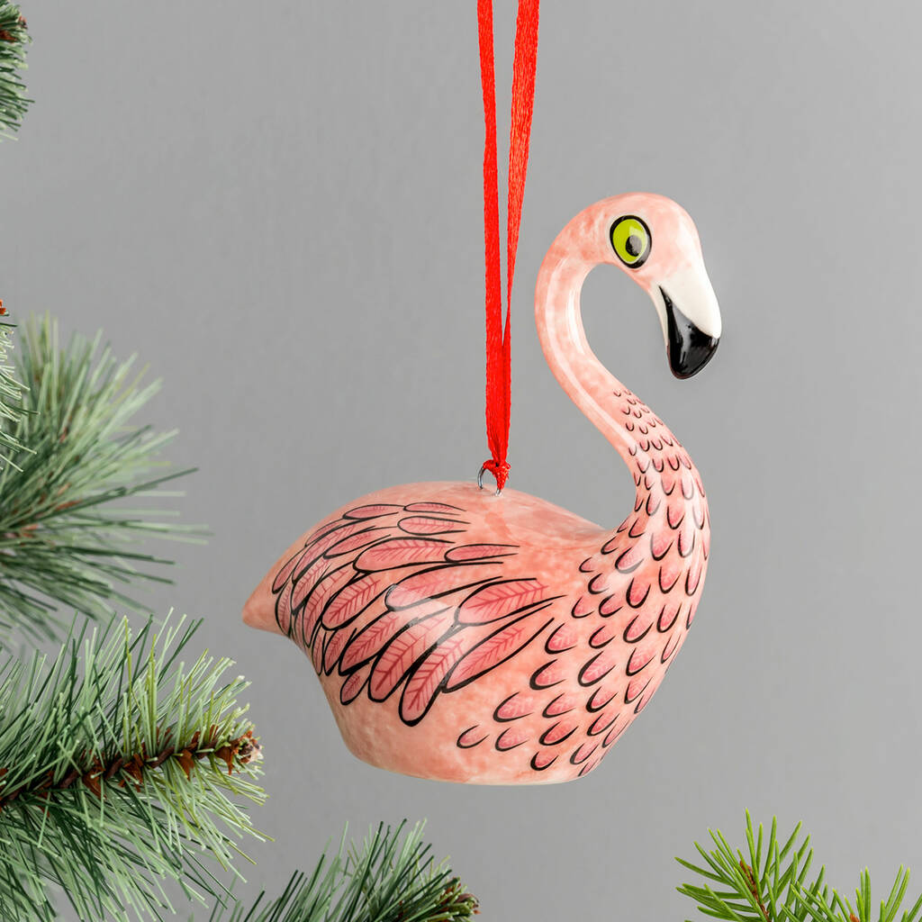 Flamingo Festive Decoration