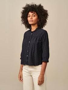 Atwood Shirt in Navy