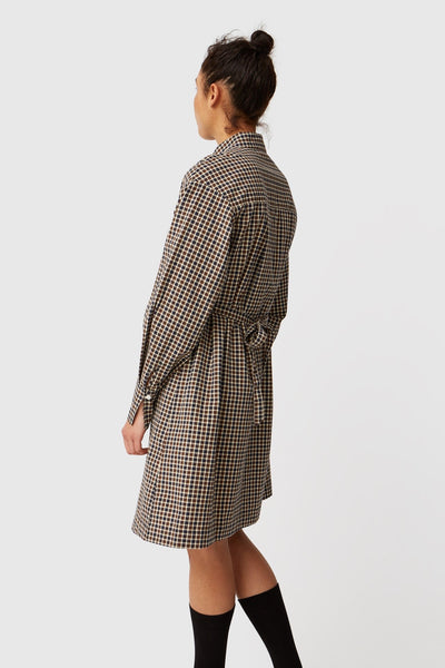 Colette Dress in Check