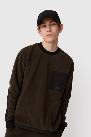 Gorm Sweater in Dark Green