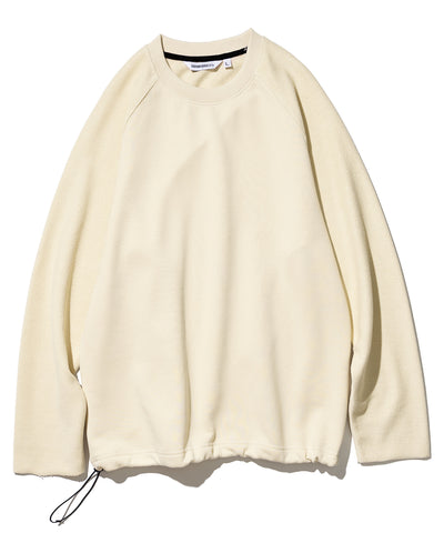 Reverse Sweatshirt in cream