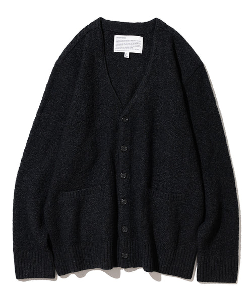 Knit Cardigan in Charcoal