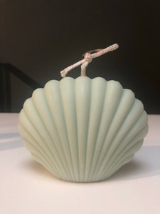 Green Shell Candle