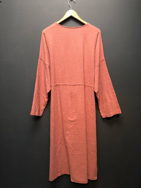 April Dress in Dusty Pink