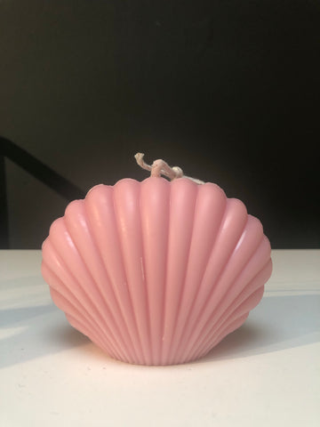 Pink Shell Candle