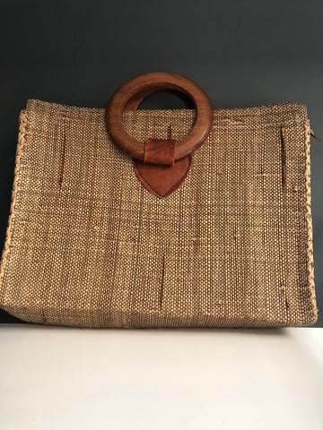 FOUND Straw Bag