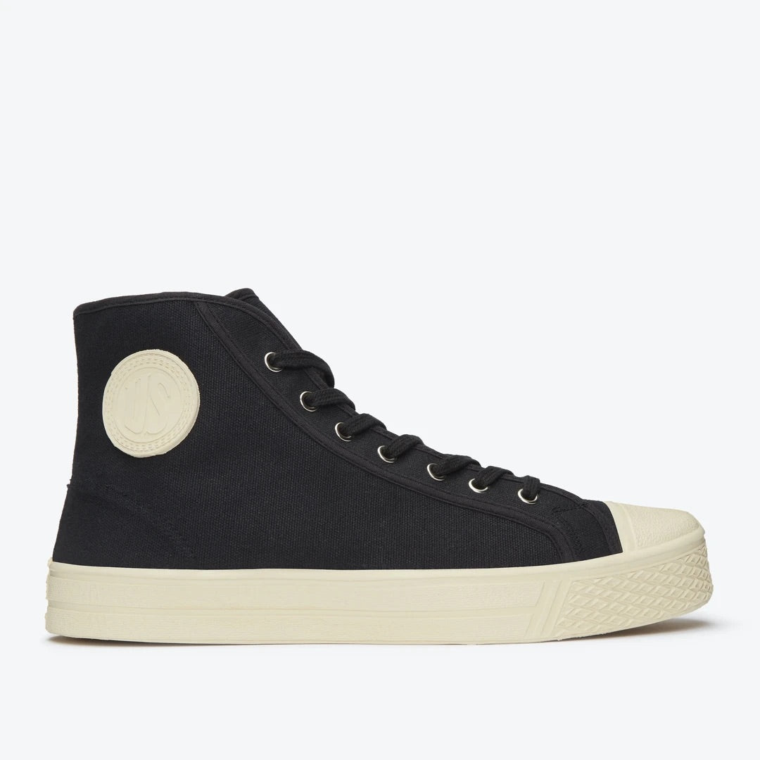 Military High Tops in Black