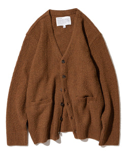 Knit Cardigan in Brick
