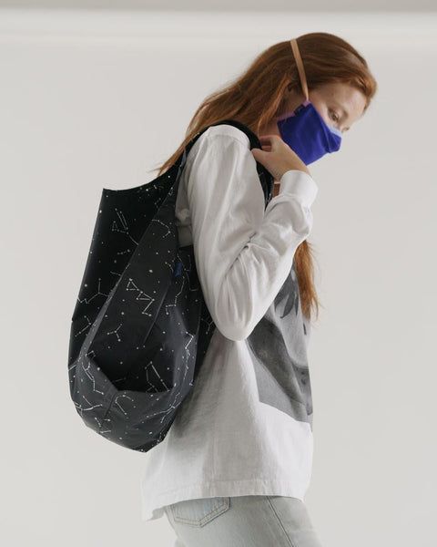 Standard Tote in Black Constellation