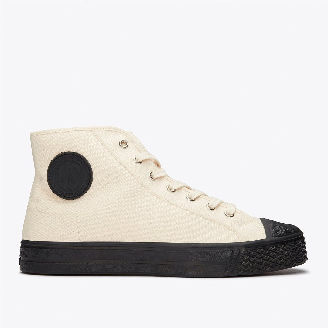 Military High Tops in off White