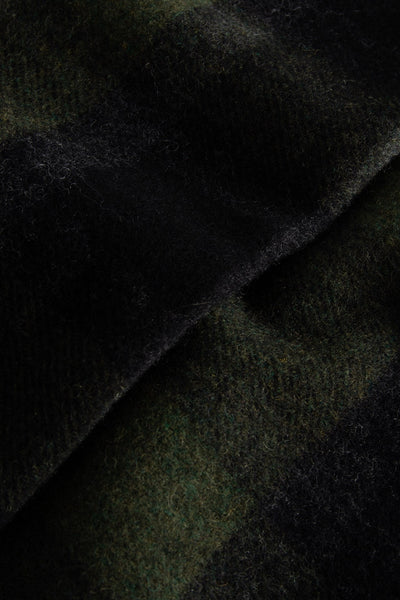 Karlo Scarf in Green Check