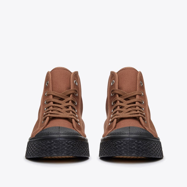 Military High Tops in Brown