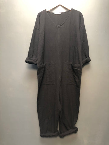 Snuggle Jumpsuit in Black