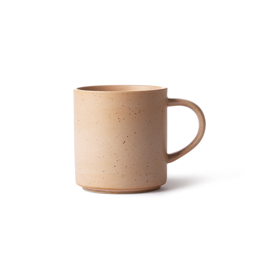 Bold and Basic Ceramic Coffee Mug