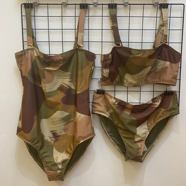 Camo swimsuit Multi