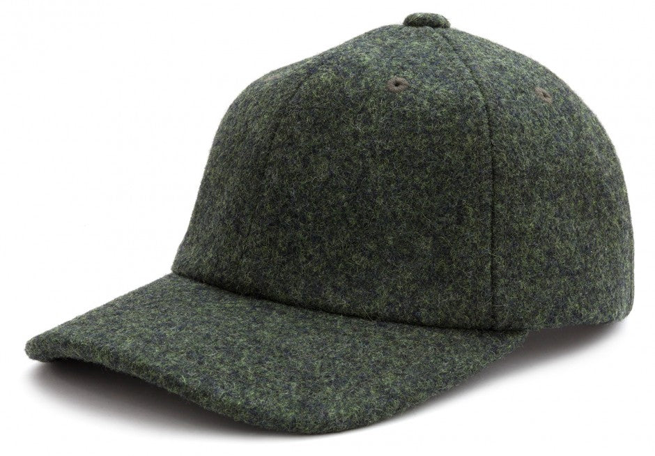 Wool Cap in Green
