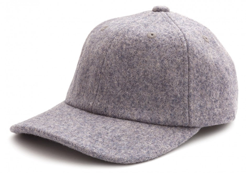 Wool Cap in Grey
