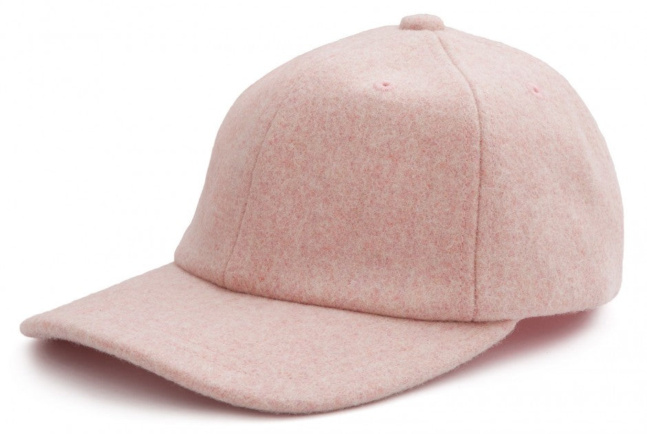 Wool Cap in Rose