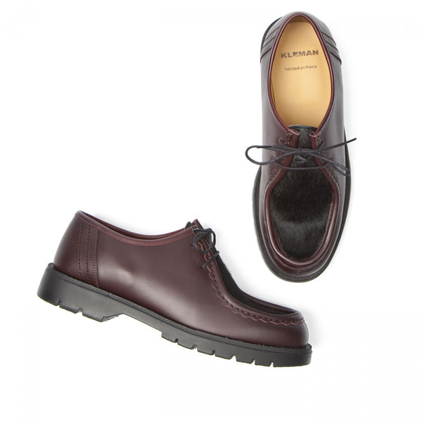 Padrini Shoes in Burgundy