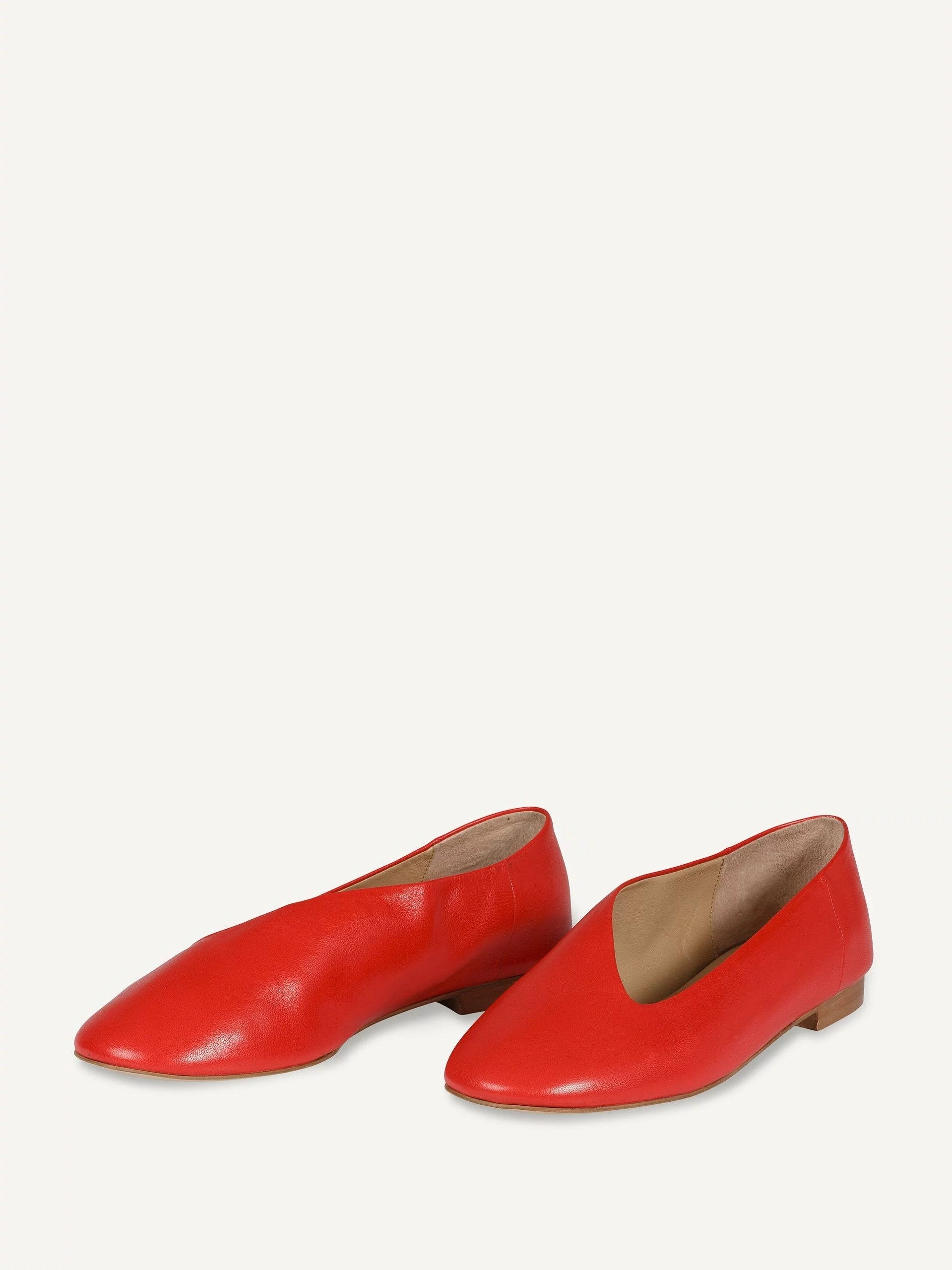 Iman Pumps in Red