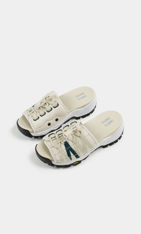 Mount Kita Sandal in Grey Jade