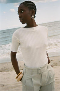 Sabrina Top in Eggshell