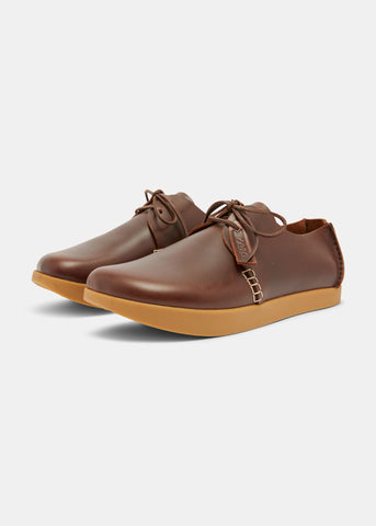 Yogi X YMC Orson Leather Shoe in Brown