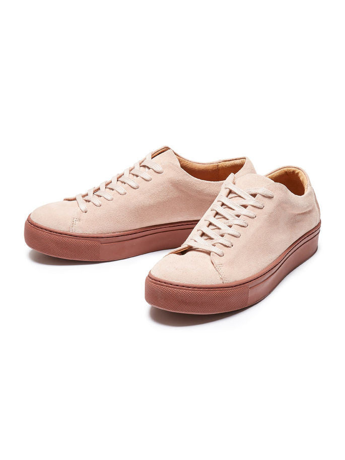 Donna Sneakers in Pink Suede
