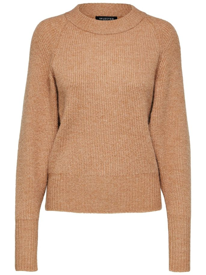 Ena Jumper in Camel
