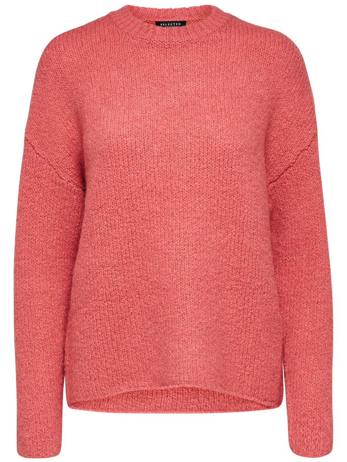 Regina Jumper in Slate Rose
