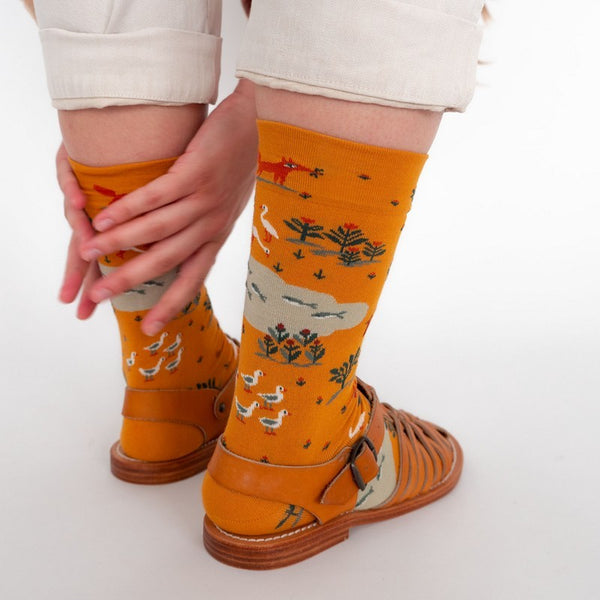 Gold Fox Socks