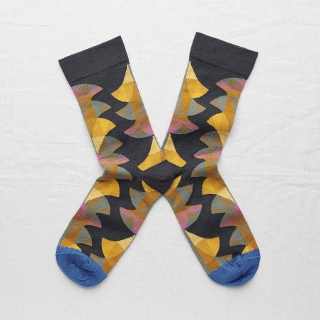 Night Palm Socks