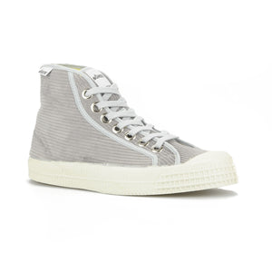 Star Dribble Hi-Tops in Cord Grey